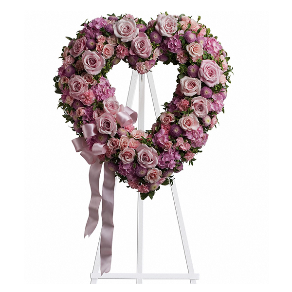 Rose Garden Heart buy at Florist