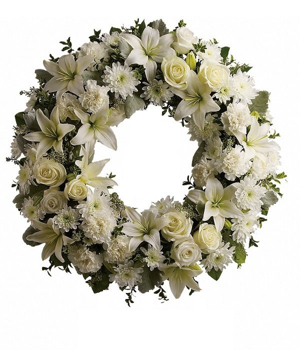 Serenity Wreath buy at Florist
