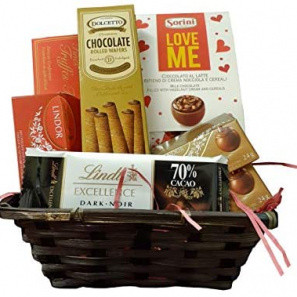 Chocolate Lovers Gift Basket buy at Florist