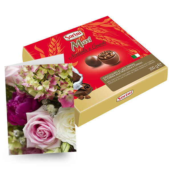 Large Chocolates & Card buy at Florist