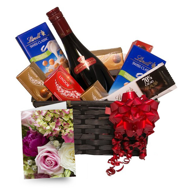 Lindt & Red buy at Florist