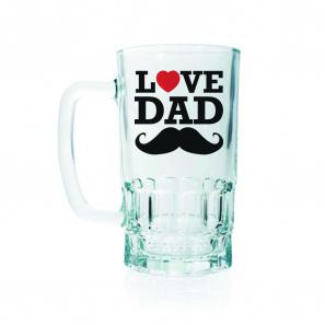 Love Dad Beer Mug buy at Florist