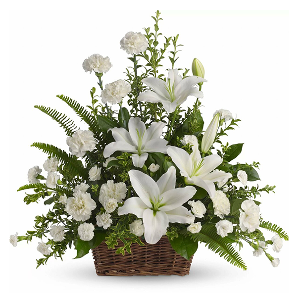 Peaceful White Lilies buy at Florist