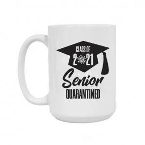 Quarantined Grad 2021 Mug buy at Florist