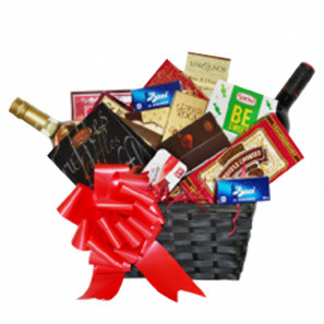 Wine & Gourmet Gift Basket buy at Florist